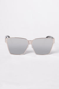 Huntington Beach Sunglasses - Silver/Black