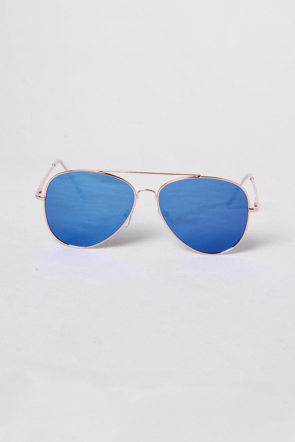Hawaii Sunglasses - Gold/Blue