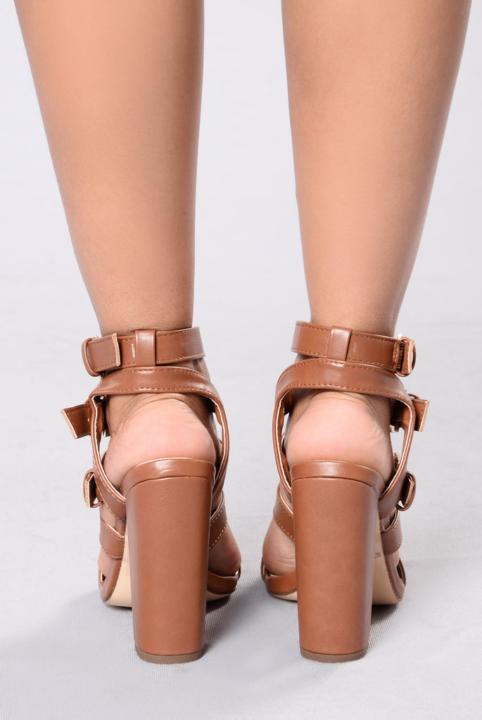 Part Of Me Heel - Cognac