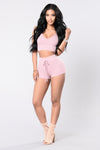 Hot Girl Shorts - Mauve