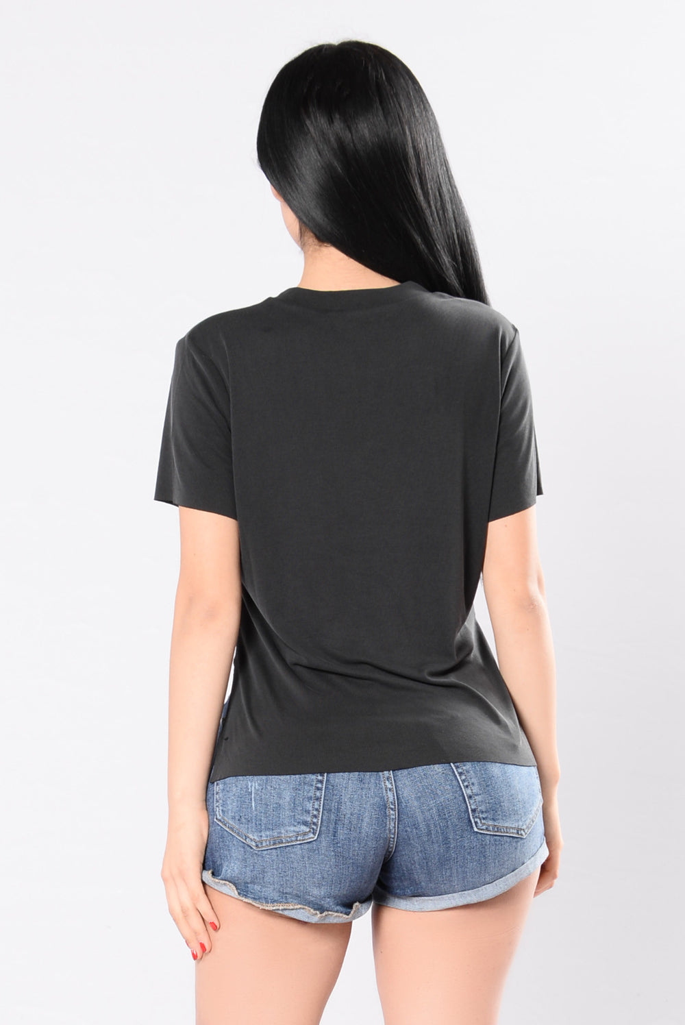 Simple As That Tee - Black