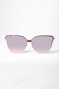 Are You A Blogger? Sunglasses - Rose Gold
