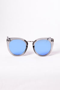 Look At That Sunglasses - Grey/Blue