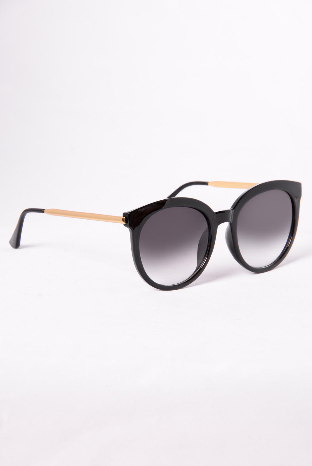 Mar Del Sur Sunglasses - Black/Gold