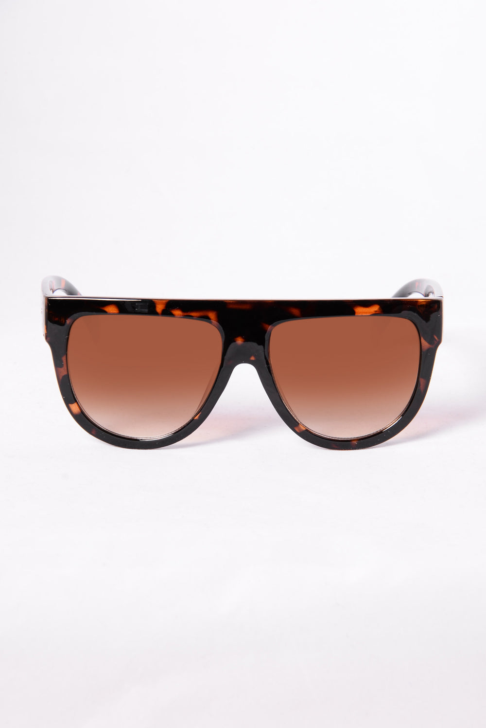 Stop And Stare Sunglasses - Tortoise