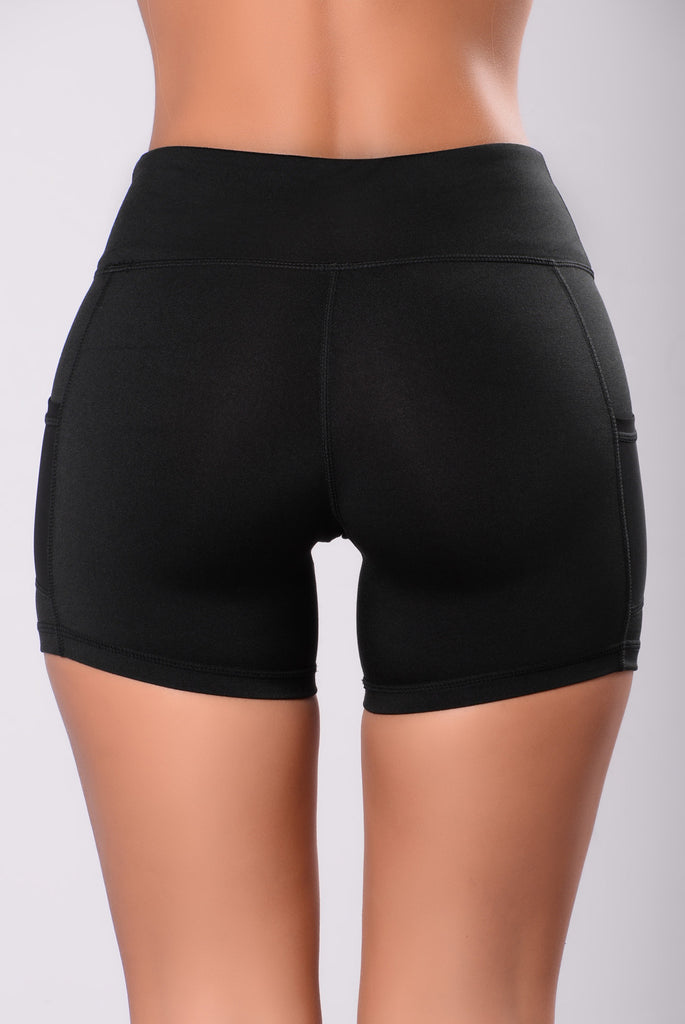 Work Out Shorts - Black