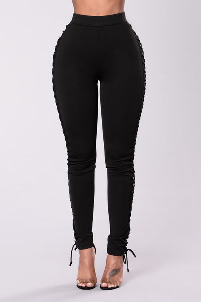 Side Dish Pants - Black