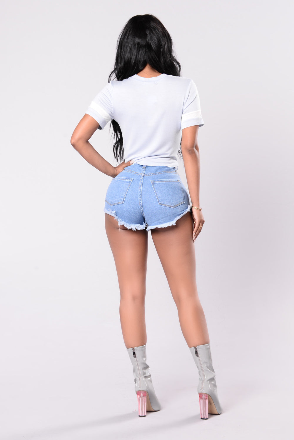 Just Right Tee - Light Blue