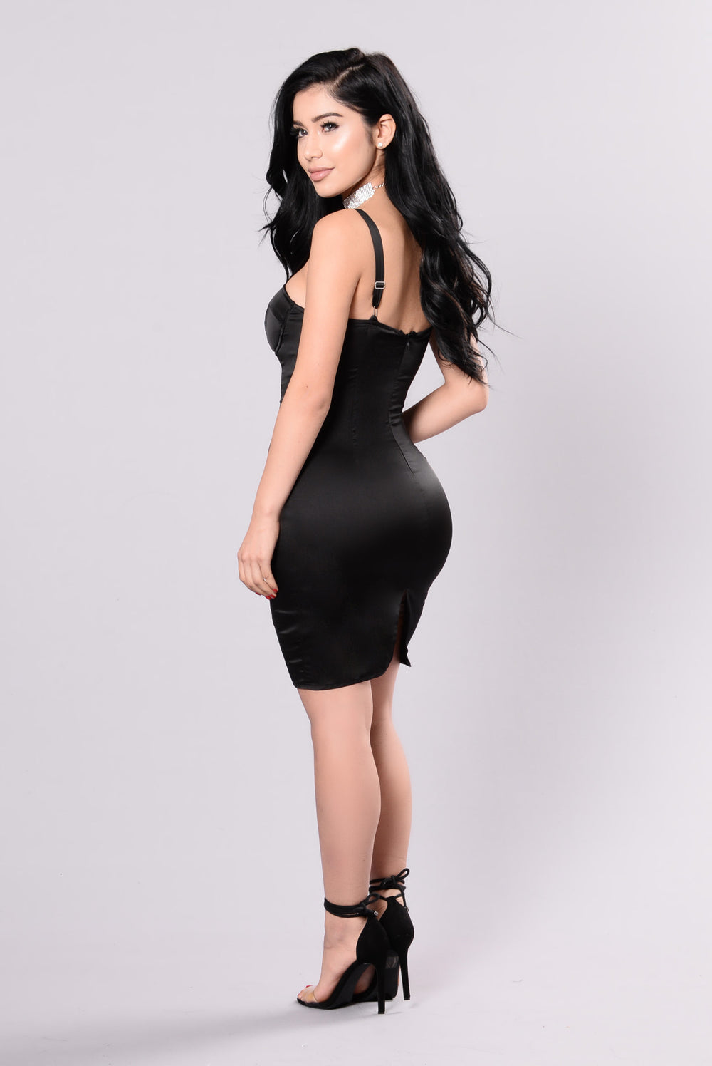 Follow Me My Darling Dress - Black