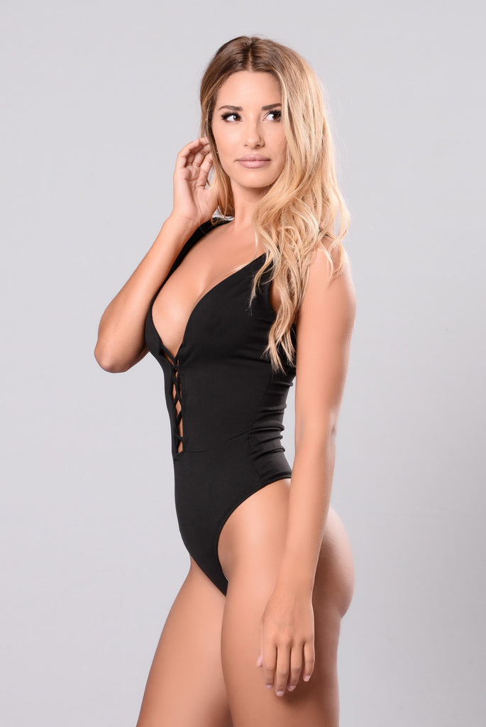 It's Simple Bodysuit - Black