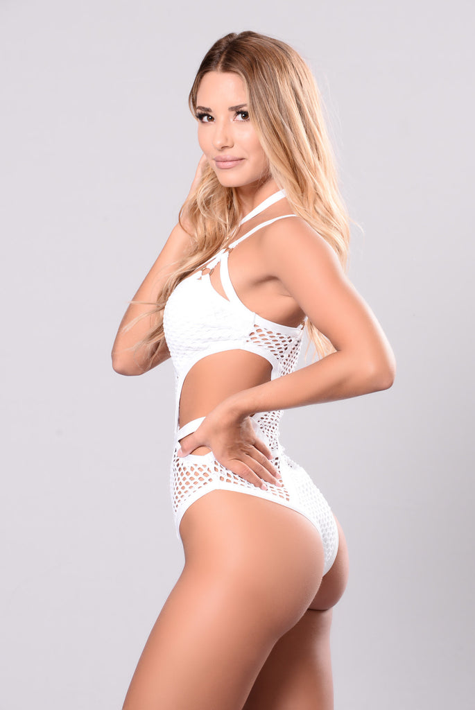 Santorini Swimsuit - White