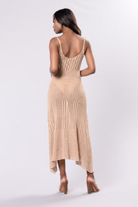 It Feels So Good Dress - Mocha