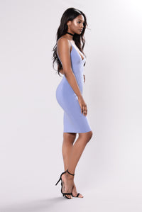 Simple Kind Of Life Dress - Slate Blue