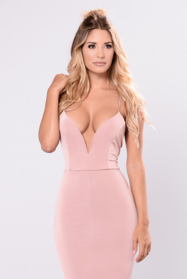 Say Something Lovely Dress - Blush
