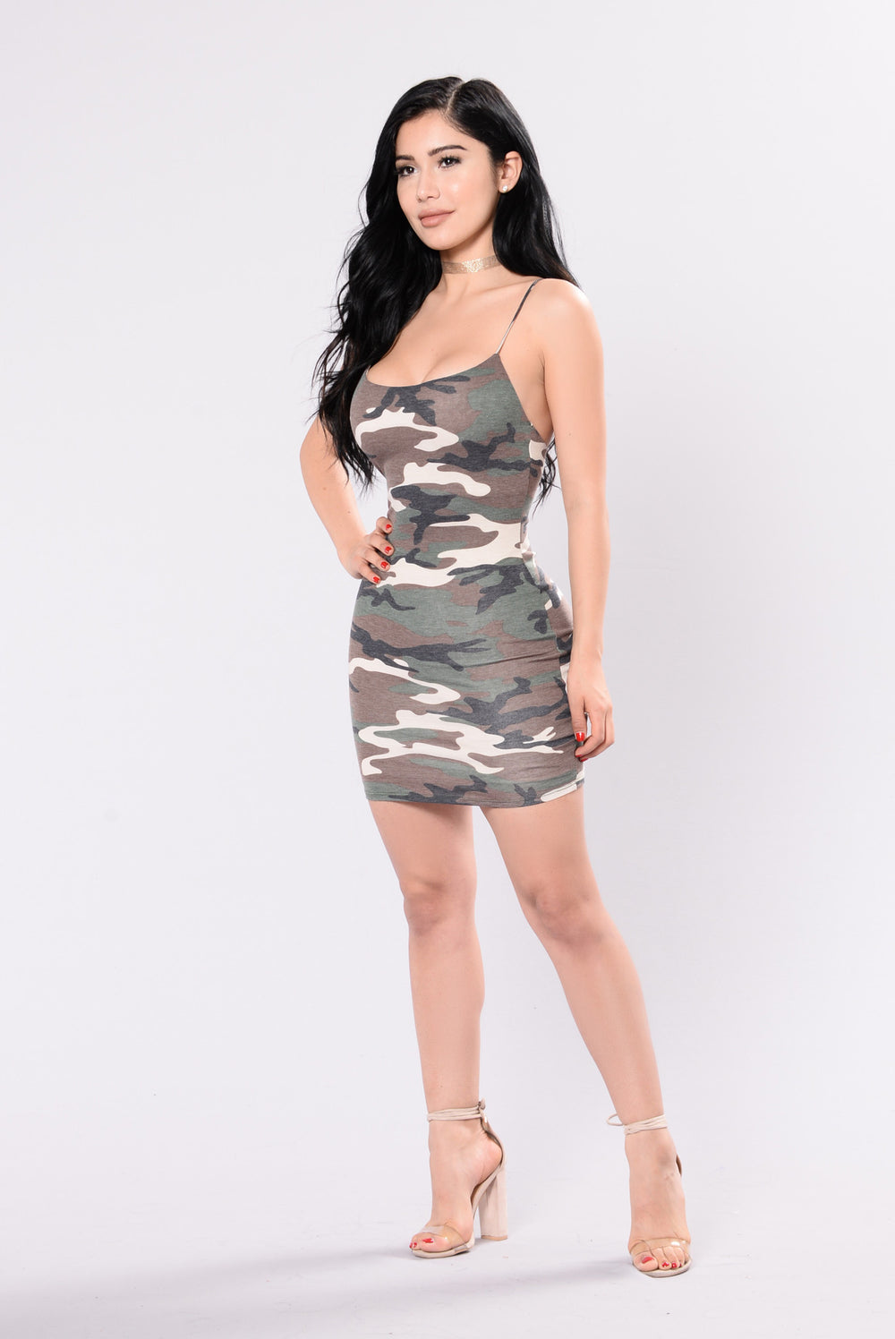 Aftermath Dress - Army