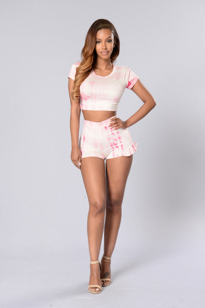 High on Summertime Shorts - Pink
