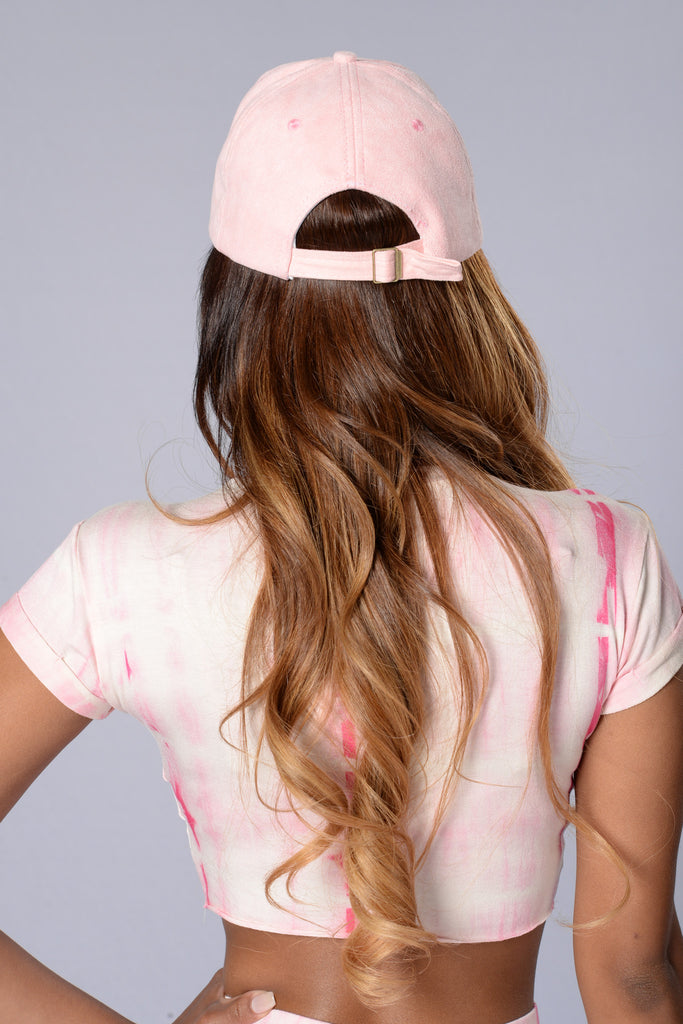 Take Me Out Cap - Pink
