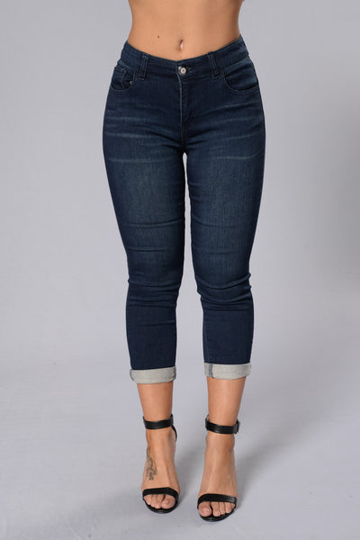 Traveling Jeans - Blue/Black