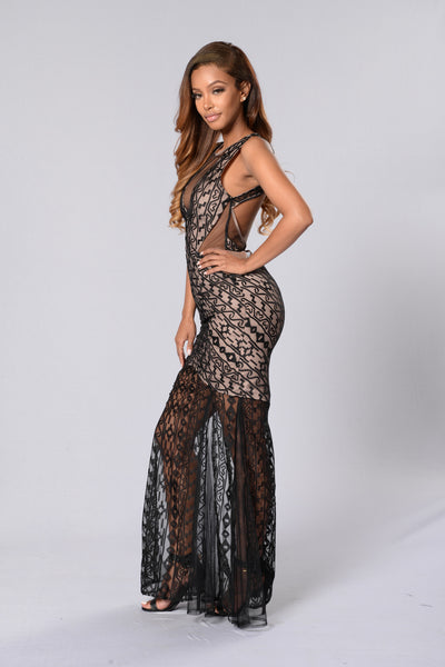 Black Tie Event Dress - Black