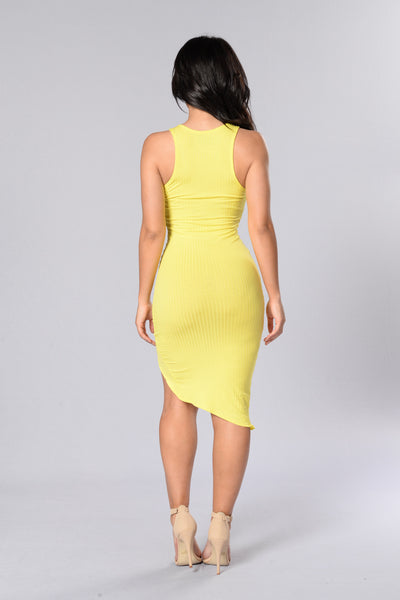Gold Coast Dress - Yellow