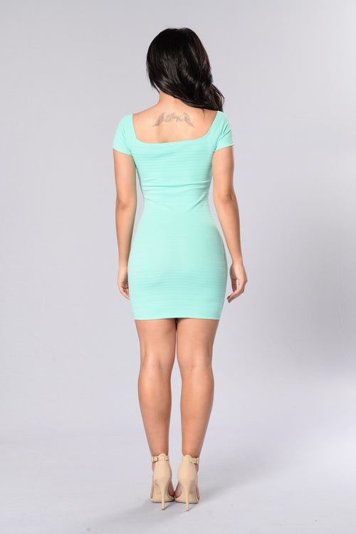 Love Me Mini Dress - Mint