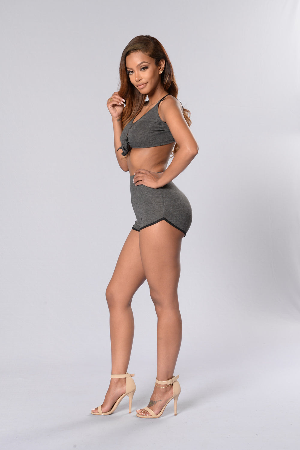 Knotting Hill Shorts - Charcoal