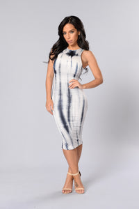 Bubblelicious Dress - Navy