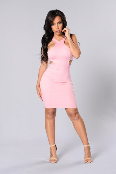 Dance All Night Dress - Rose