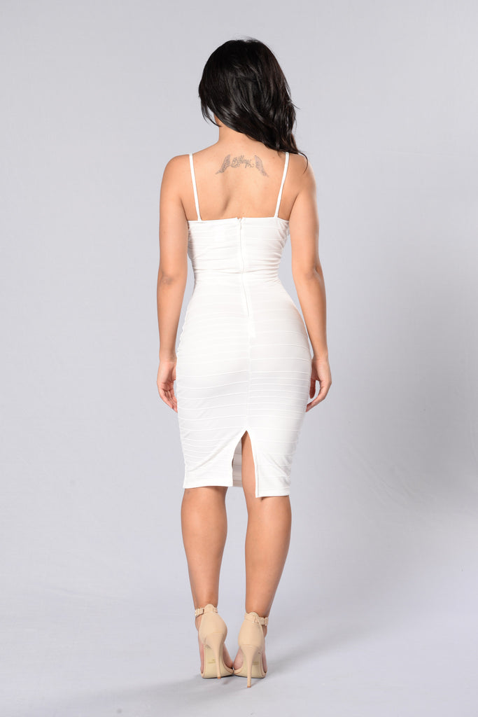 Set You Free Dress - Ivory