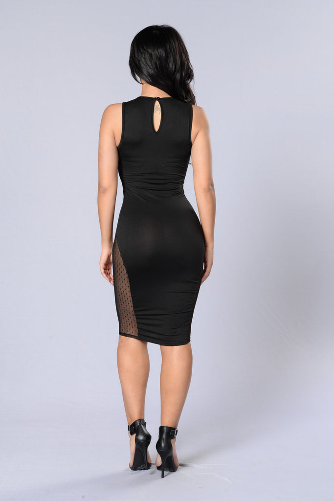 Spotlight Dress - Black