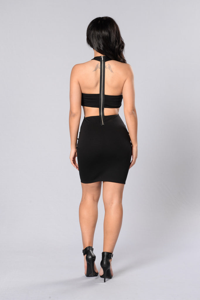 Dance All Night Dress - Black