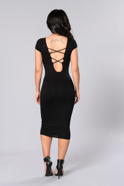 Vixen Dress - Black