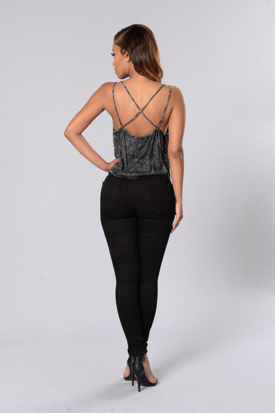Backstage Pass Top - Black