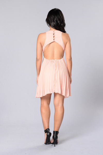 Fine Tune Dress - Pale Pink