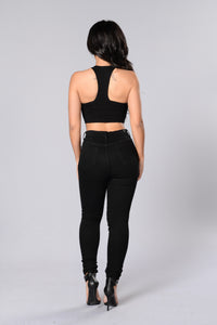 Motto Top - Black