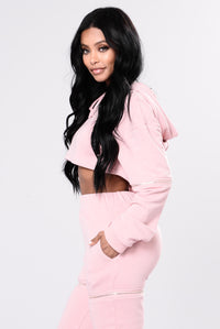 Limited Edition Zipper Hoodie - Pink
