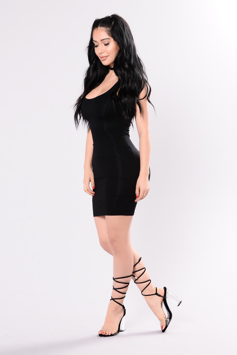 Can't Go Wrong Dress - Black