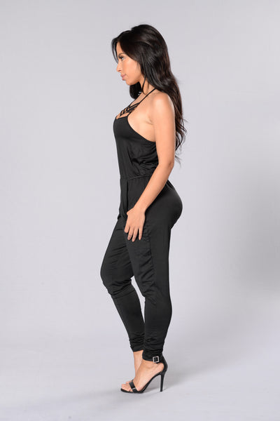 Detention Jumpsuit - Black