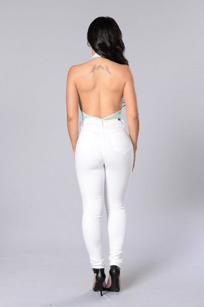 Silent Disco Bodysuit - Mint