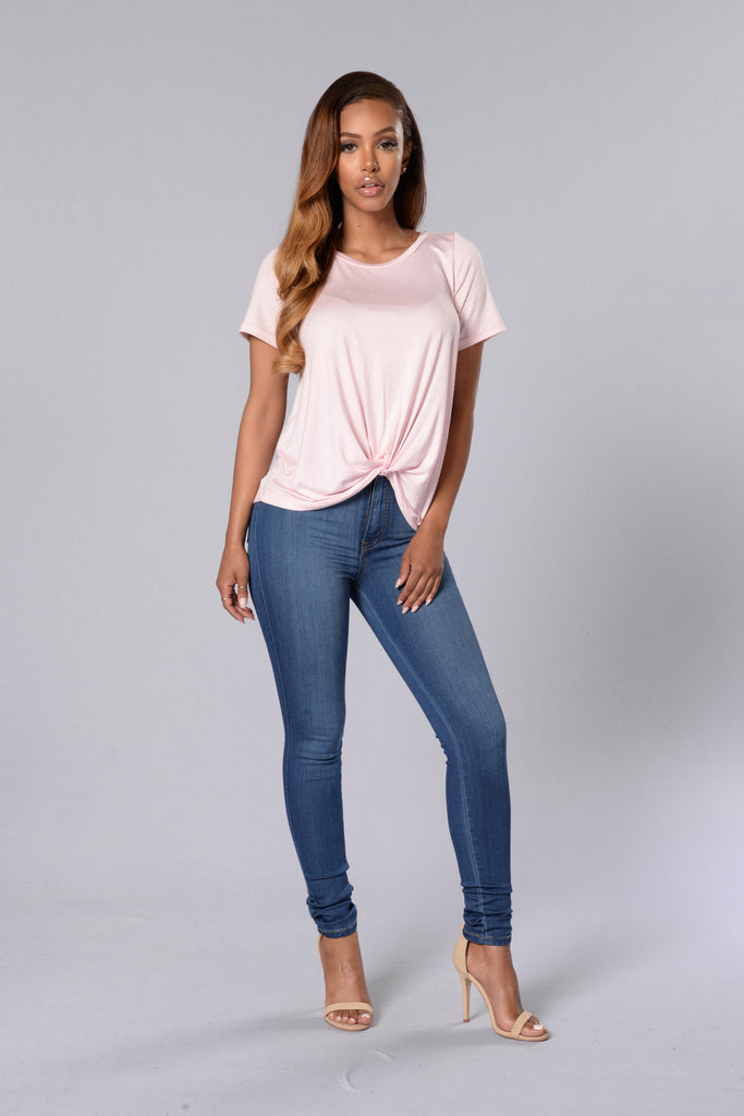 Knot Your Girl Tee - Pink