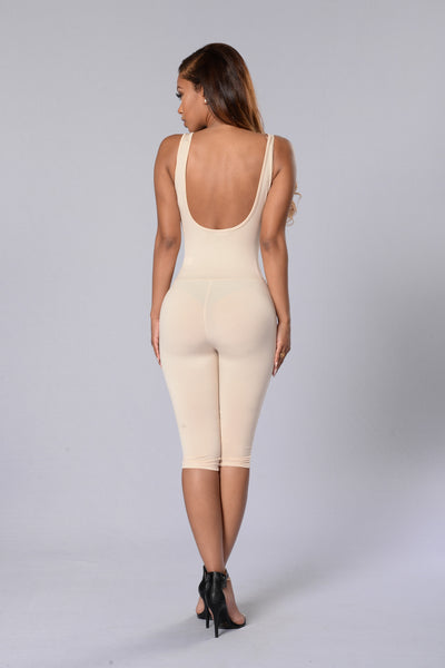 Overdrive Jumpsuit - Nude