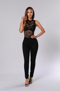 Special Purpose Bodysuit - Black