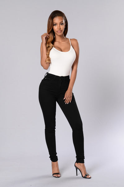 Keep It Simple Bodysuit - Ivory