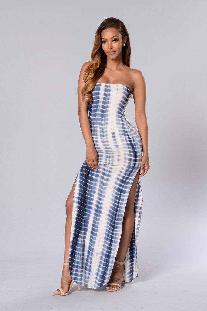 Deep Sea Dress - Navy