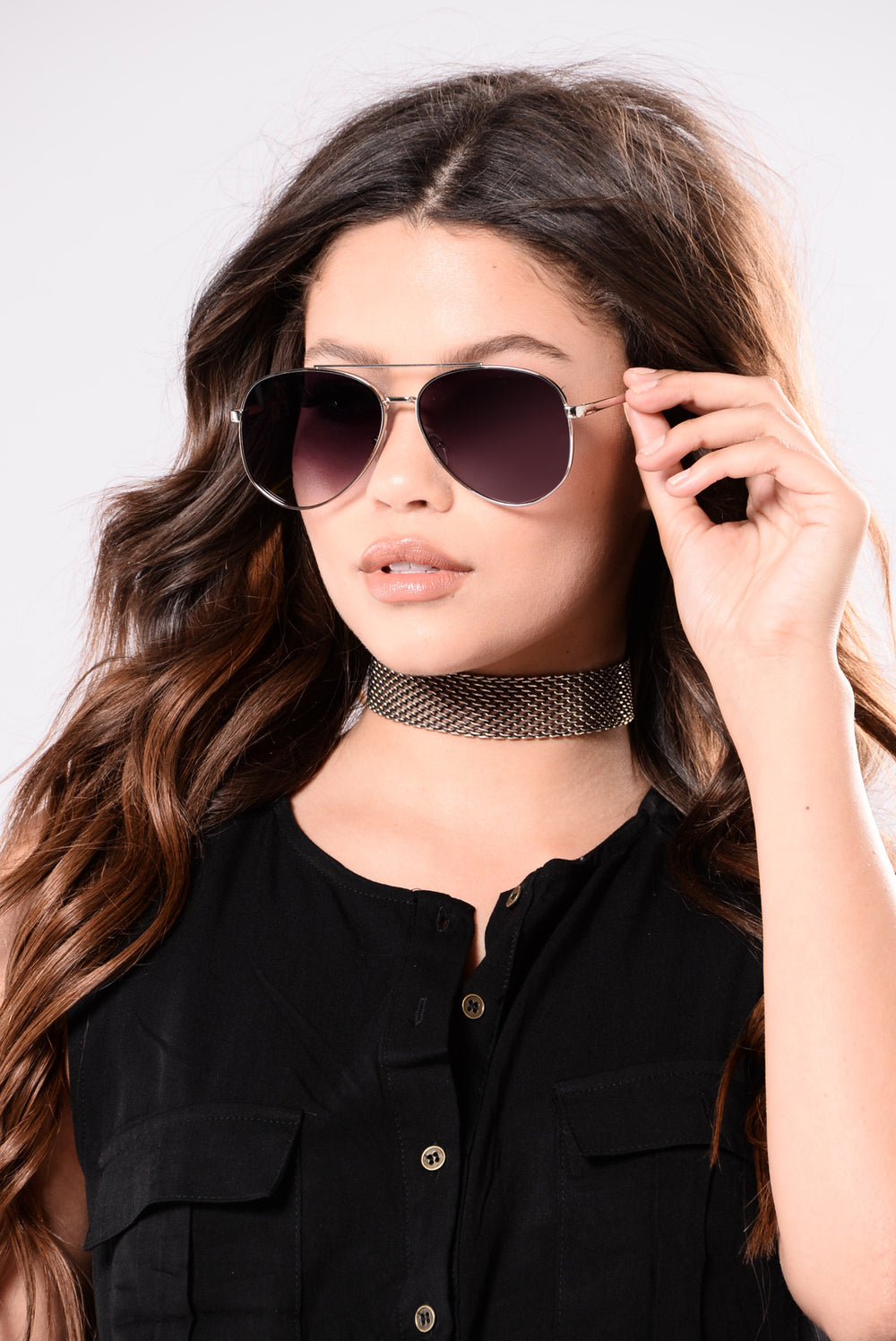 Brandy Sunglasses - Silver