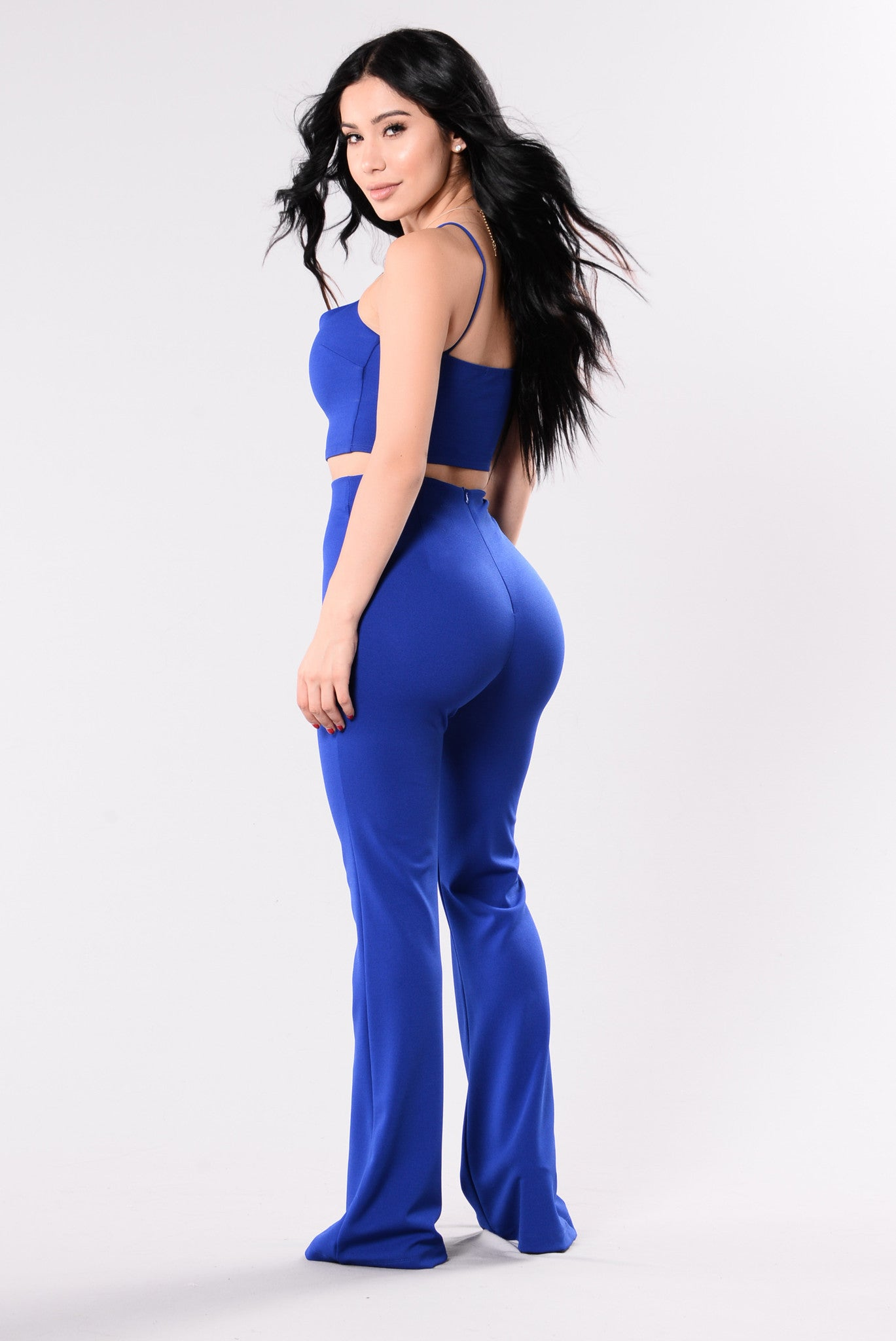 f6835bca8d Take It From Me Crop Top - Royal