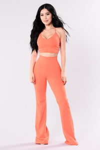 Take It From Me Crop Top - Orange