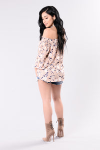 Lost In The Florals Top - Floral