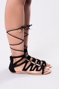 Gwendolyn Sandal - Black
