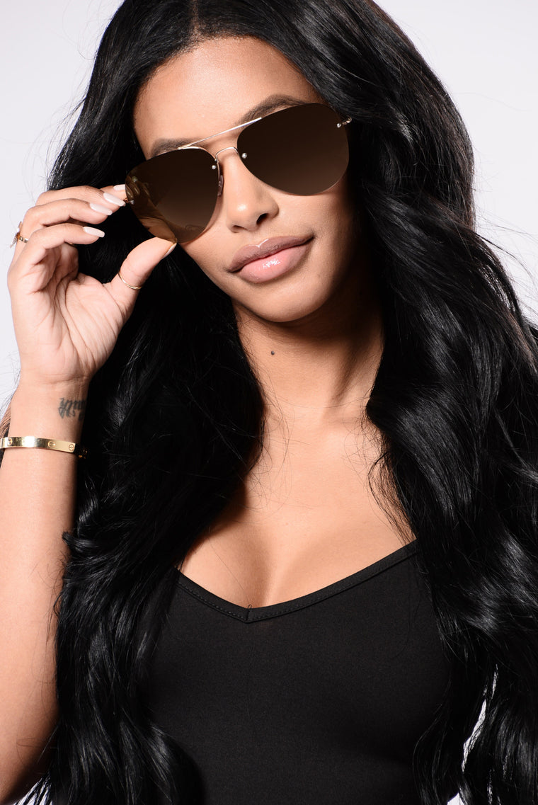 Brianna Sunglasses - Brown